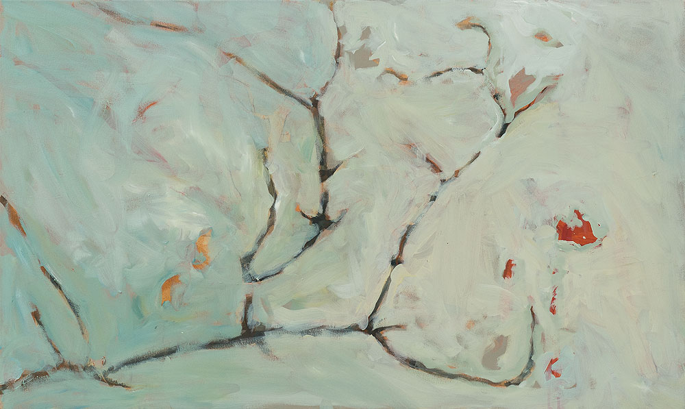 Joanna Skurska | Verzweigt | 60 X 100 cm | Oil on Canvas | 2015