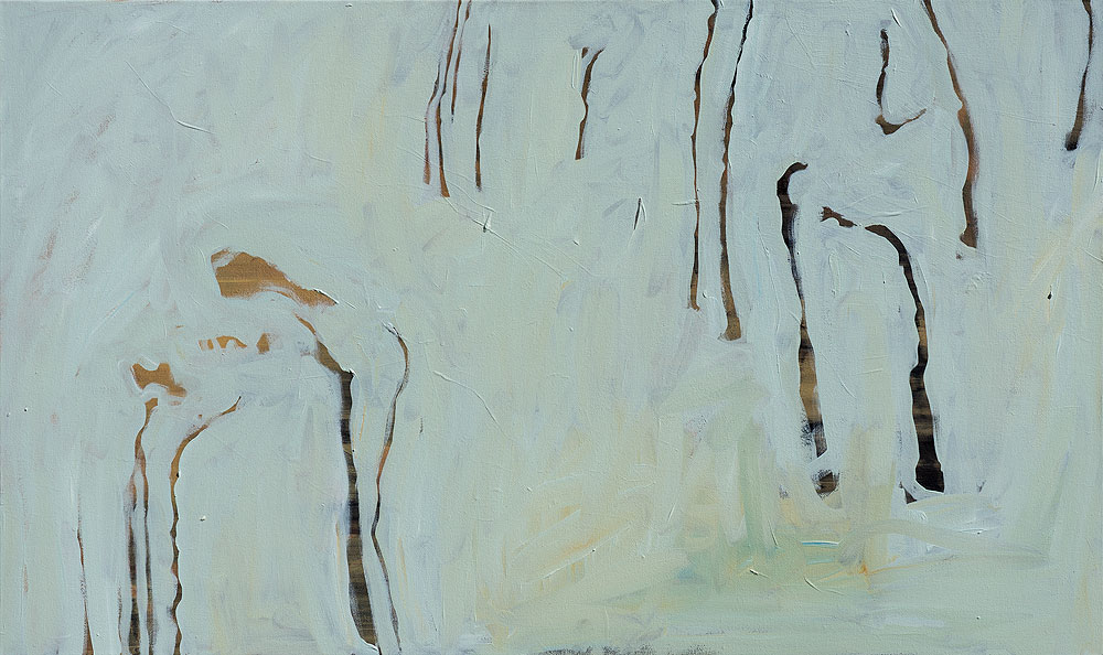 Joanna Skurska | Unkraut 10 | 60 X 100 cm | Oil on Canvas | 2015